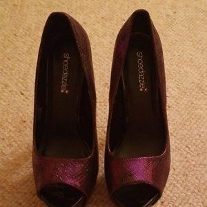 Shoedazzle Women's platform heels NWOT